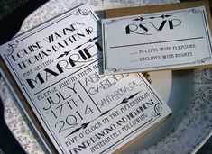 Hey, I found this really awesome Etsy listing at https://www.etsy.com/listing/120567736/art-deco-wedding-invitations-great-art