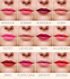 Repinned: CARGO Essential Lip Colors