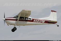 Cessna A185F Skywagon 185 aircraft picture Cessna 150, Cessna Aircraft, Civil Aviation, Aviation Art, Airplane Car, Float Plane, Private Plane, Aircraft Pictures, Gliders