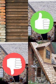 Está pensando em construir um chalé de alvenaria em sua propriedade? Conheça os pontos positivos e negativos desse tipo de construção em nosso artigo! Types Of Construction, Building Materials, Brickwork, Feather, Dots