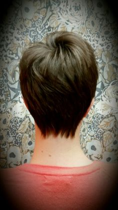 Pixie cut by Shana Montgomery owner of Fringe Theory Salon.