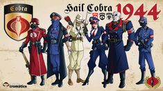 GI Joe Cobra Characters | World-War-II-Cobra---Hisstank World War II Inspired G.I.Joe and Cobra ...