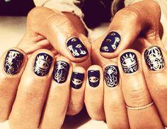 @Margaret Martinez Byrd Beauty - Hannah Bronfman    @hannahbronfman #manicure