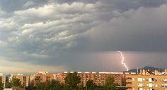 Primera tormenta de verano en Valencia