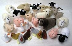$$ Pattern: Farmyard Animals by Alan Dart.  A child would probably play for hours with these and no batteries required!