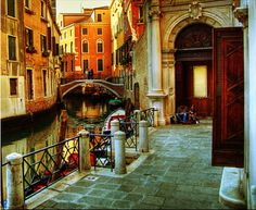 I want to be here.  This very spot, right this very moment.  FOREVER! Venice, Italy