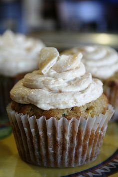 Zucchini Ginger Cupcakes