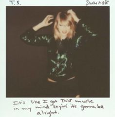 "TAYLOR SWIFT - ""SHAKE IT OFF"" LIMITED EDITION - CD SINGLE"