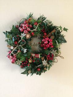 Christmas Wreath, Evergreen Wreath, Wall Decor, Home Decor, Christmas Wall Decor, Christmas Front Door Wreath, Christmas Decor by TapsikDesign on Etsy