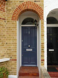 Teal Regency front door by the London Door Company This is a good ...