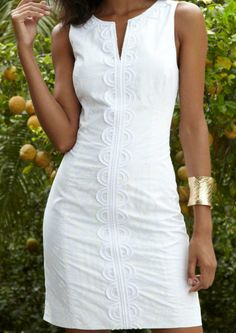 Shift Dress flattering for every body type.  Have it custom made by measuring2fit.com