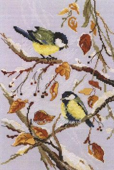 Buy First Snow Cross Stitch Kit Online at www.sewandso.co.uk