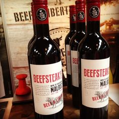 Beefsteak Club Malbec: Beef & Liberty #wine