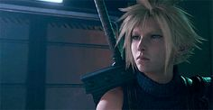 Final Fantasy Funny, Final Fantasy Cloud, Final Fantasy Characters, Final Fantasy Vii Remake, Fantasy Series, Cloud And Tifa, Cloud Strife, Ebisu, Fantasy Setting