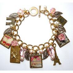 Parisian Romance - Bon Voyage Charm Bracelet from Picsity.com