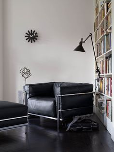 """designwithinreach: """"LC3 Grand Modele Armchair with Down Cushions Designed by Le Corbusier, Pierre Jeanneret and Charlotte Perriand, produced by Cassina The Le Corbusier group referred to their LC2 and LC3 collections (1928) as """"cushion baskets,""""..."""