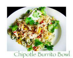 Crockpot Chicken Burrito Bowl Recipe... My Version like from Chipotle! Easy!