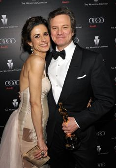 Livia Giuggioli Firth & Colin Firth: Oscars 2011 - The are so fabulous together, he's a great actor, she's a great designer!