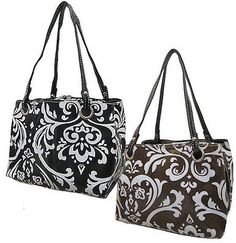 Damask Print Insulated Lunch Cooler $15