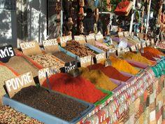 Spice stall, Houmt Souk market, Djerba
