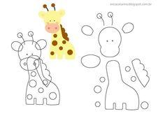 giraf van vilt Zelf maken? kijk voor vilt eens op www.bijviltenzo.nl
