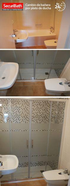 Cambio de bañera por plato de ducha en 24 H