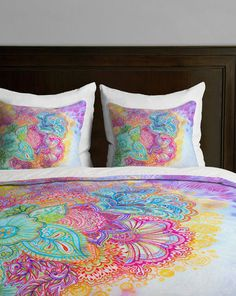 Flourish Twin Duvet Cover