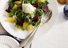 Beetroot, witlof, labne and orange salad recipe - 9Kitchen