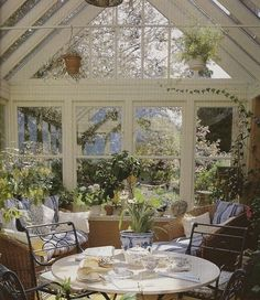 Conservatory - what a place to spend the weekend.