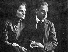 Rilke i Klara Westhoff latem roku 1906