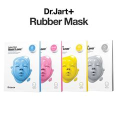 [Dr.Jart+] Dermask Rubber Mask (Moist / Firming / Bright / Clear Lover™) #DrJart
