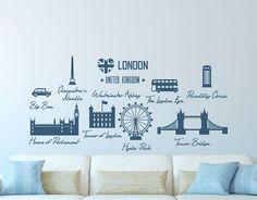 vinilos decorativos ciudades famosas Londres