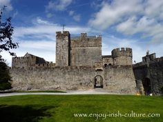 Cahir Castle is one of the larges and most beautiful medieval castles in Ireland. For the full and fascinating history of the castle visit the Enjoy Irish culture website.