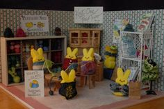 Sweaters for Peepguins, 2014 Peep Diorama entry