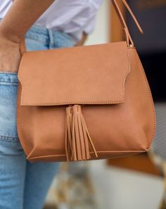 Tassel crossbody bag | Sole Society Finch