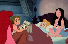 disney crossover Photo: Whatever You Do, Don't Fall Asleep disney crossover - sleepover with ariel, jane, Cinderella, mulan.did they draw on Cindy? Disney Pixar, Disney Memes, Disney Fan Art, Disney Cartoons, Disney And Dreamworks, Disney Love, Disney Characters, Disney Princesses, Funny Disney