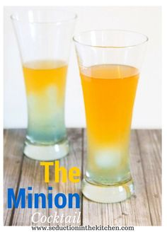 The Minion Cocktail