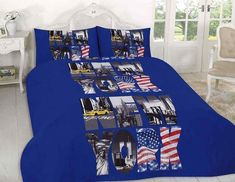 New York City Duvet Quilt Cover Bedding Set Discount Bedding Sets, Blue Bedding Sets, Toddler Girl Bedding Sets, Queen Bedding Sets, Pink Bedding, Luxury Bedding Sets, Damask Bedding, Blue Duvet, Black Bedding