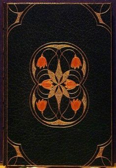 """A Lodging For The Night"" Binding by Louis Kinder, 1902. Louis Herman Kinder was a skilled German binder who worked at Roycroft from about 1897 to late 1911."