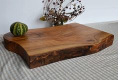 Live edge cutting board  live edge wood  ash wood  by KubuHandmade