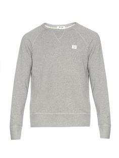 Acne Studios College Face jersey sweatshirt