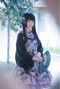 画像 : 「和ロリ」に続くは中華ロリ!チャイナドレスイメージのロリィタファッション「Qi Lolita」 - NAVER まとめ
