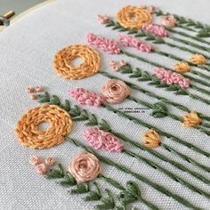 Hand Embroidery Patterns Flowers, Basic Embroidery Stitches, Hand Embroidery Videos, Dmc Embroidery Floss, Learn Embroidery, Embroidery For Beginners, Hand Embroidery Designs, Embroidery Letters, Hand Embroidery Tutorial