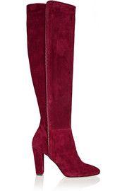 Emmi suede knee boots