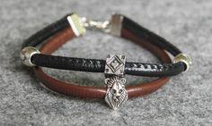 cube and lion bracelet