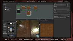 In a special bumper 79 minute tutorial Richard Piper shows how to create a PBR tiling texture in ZBrush, Substance Designer and Knald.  About Eat 3D: Eat 3D has…