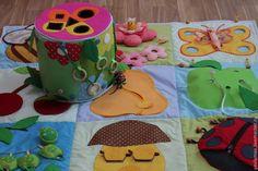 """Купить Развивающий коврик для малышей от 1 до 3 лет """"На лугу"""" - развивающий коврик"""