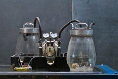 Vintage Embalming Case Jars Machine : Modern50.com 20th Century Vintage Furnishings & Design