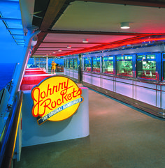 Grab a bite of classic Americana from Johnny Rockets.