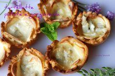 Tartellette patate e gorgonzola